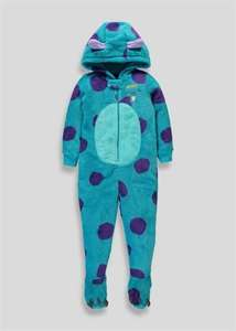 Matalan Sully (Monsters Inc) Onesie reduced to £6 from £12, free click and collect