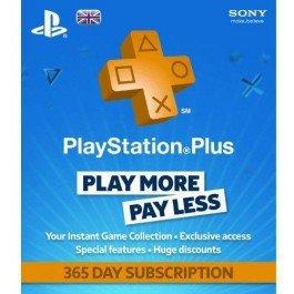 PS Plus 365 days membership £34.10 @ cdkeys