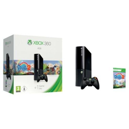 Xbox 360 4GB With Peggle 2 £109 @ Tesco Direct Free CnC