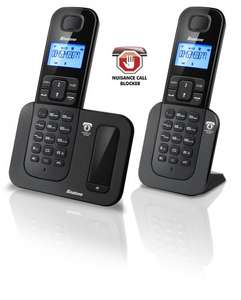 Binatone Shield 6015 Call Blocker Twin Home Telephone, £29.99 from amazon