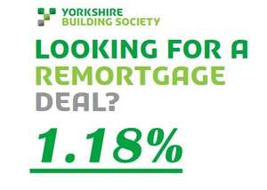 2yr Fixed Rate Mortgage - 65% LTV, 1.18% [YBS launches lowest mortgage rate in 150 year] @ Yorkshire Building Society