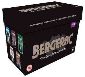 (DVD) Bergerac: The Complete Collection (27 Discs) - £28.30 - Amazon