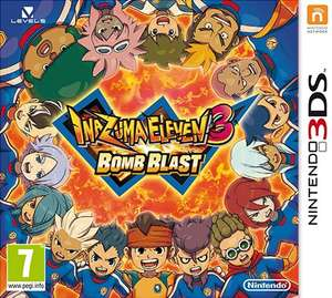 Inazuma Eleven 3: Bomb Blast 3DS £20.45 @ Rakuten / Gameseek using MARGIFT5 code + 3.5 % potential Quidco cashback
