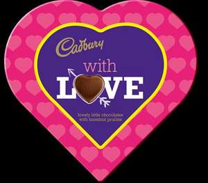 Cadbury Heart Chocolates in tesco  for just a quid usually about 4 quid £1 @ Tesco