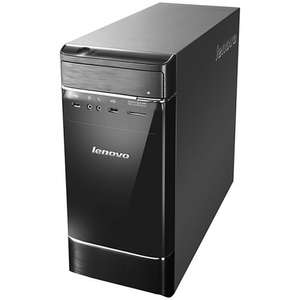 Lenovo H520e Desktop PC, Intel Core i3, 4GB RAM, 1TB, Black & Silver @ John Lewis - £249.99