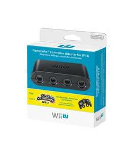Official Nintendo GameCube Adapter (Wii U) - £18.63 @ Amazon France (Backorder)