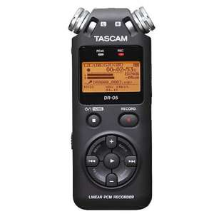 Tascam DR05 Version 2 Digital Audio Recorder With 4GB Micro SD Card £69.00 @ Juno Records