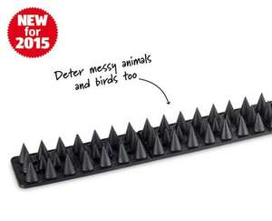 9 Piece Security Fence and Wall Set £4.99 at ALDI from 8th
