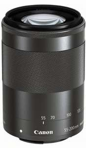 Canon EF-M 55-200mm 1: 4.5 to 6.3 IS STM lens (52mm filter thread) for EOS-M £205 @ Amazon Germany