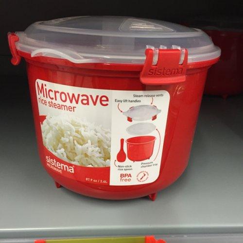 Sistema microwave rice steamer £6 @ Asda (instore)