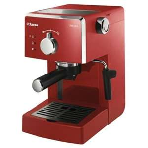 Philips HD8323/98 Espresso Coffee Machine - Red for £50.99 at Tesco