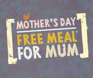 Free Meal For Mum @ The Harvester On Mothers Day After 6pm