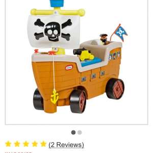 Little tikes pirate ship ride on £24.99 @ Argos
