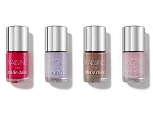 Free Nails Inc. Nail Polishes worth £11 with April edition of Marie Claire Magazine £3.99