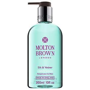 Molton Brown Silk & Vetiver Handwash, 300ml £8.00 Click and Collect FREE @ John Lewis