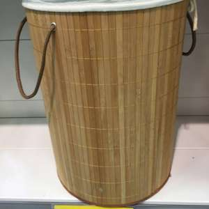 Bamboo Laundry Hamper £5.99 at Home Bargains