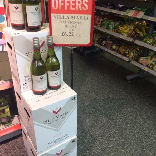 Villa Maria wine £6.22 @ Budgens instore