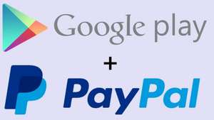 £3 free spend with PayPal on the Google Play Store