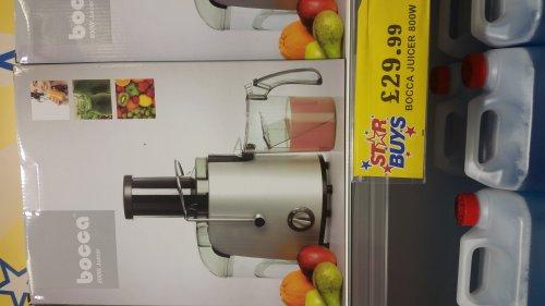 bocca juicer 800w £29.99 @ Home Bargains