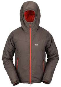 Rab Plasma Hoodie (Dark Camo) SIZE XL ONLY £44 delivered @ .rockrun.com   RRP £120