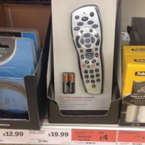 Sky+ hd  remote control £4 found at sainsburys Chelsea harbour