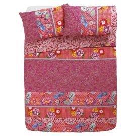 Oriental stripe king size duvet cover set £10 at Tesco direct free C&C