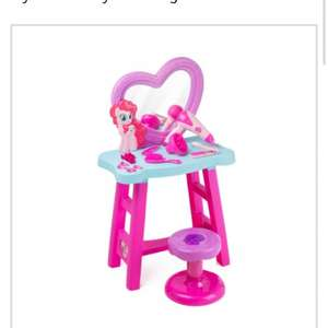 My little pony dressing table argos £21.99 half price