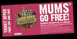 LONGLEAT- Mums go free 14-15/03/15  Mothers day idea!