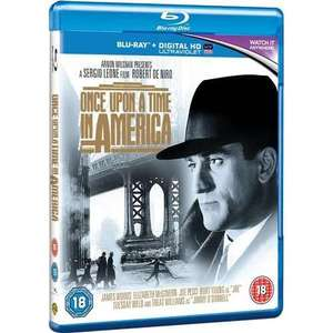 Once Upon A Time In America: Extended Director's Cut  (Blu-ray + UV) £6.99 @ The Entertainment Store via Play.com