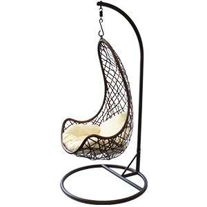 Al Fresco Marbella Hanging Chair and Cushion £99.99 C&C at Home Bargains