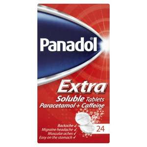 Panadol Extra Soluble Tablets x24, £1 at Wilko