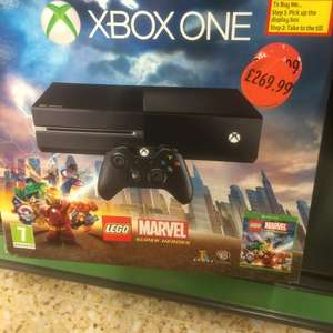 Xbox One Lego Marvel Bundle £269.99 (instore) @ Sainsbury's In store
