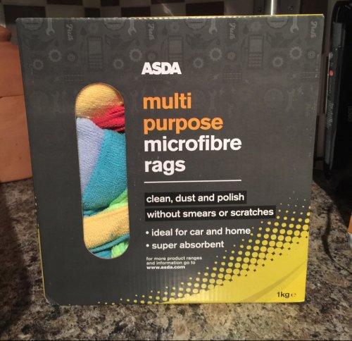 1kg ASDA Microfibre Cloths - £8.00 @ Asda instore