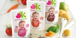 Free Annabel Karmel baby food pouch @ Ikea with every adult meal.