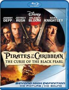 Pirates of the caribbean:the curse of the black pearl (2003) BLU-RAY (2 disc set ) £2.99 at wow hd