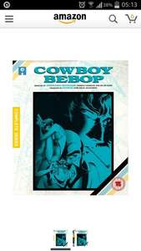 cowboy bebop complete collection blu ray £22.74 @ amazon