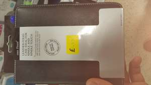 tesco finest leather folio case ideal for kindle and kindle touch £1.85 instore