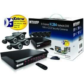 4 Camera CCTV Kit (Sentient NS801 DVR 8 Channel) - £79.99 Delivered @ Maplin (+4% Quidco)