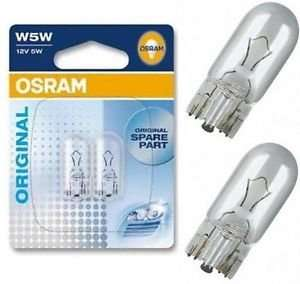 Osram 501 Clear Car Sidelight bulb - Cheaper than cheap - 32p @ Eurocarparts