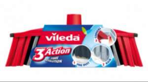 £2.50 Vileda 3 action broom @ Tesco Direct Free CC