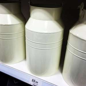 Milk Churn £6.99 instore at Home Bargains
