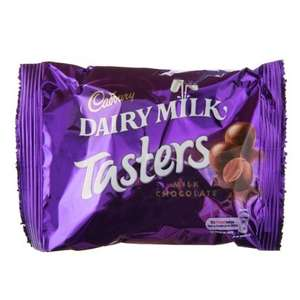 * Cadbury Dairy Milk Tasters 45g Pack Now Only 10p @ B&M Stores *