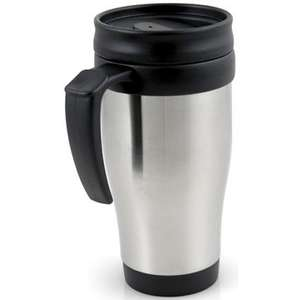 FREE TRAVEL MUG STAINLESS STEEL @ SCREWFIX IN STORE