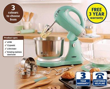 Classic Food Mixer - £34.99 Aldi (Sun 15 Mar 2015)