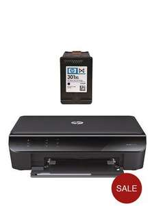 HP Envy 4500 eAiO Printer Plus Additional HP 301 Black Ink Cartridge £52.95 delivered or free click and collect bringing it down to £49 at Isme/Very
