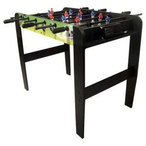 Table Football 3ft Games Table , Tesco Direct Clearance  £18.75, free click n collect