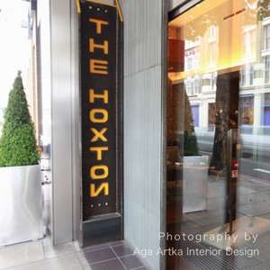 Hoxton Hotel, London. Rooms from £49  Between 21 March - 30 April