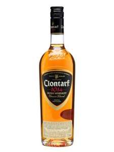 Clontarf triple distilled single malt whisky £19.99 @ Aldi from 12th