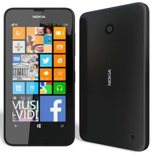 ** Nokia Lumia 630 Mobile Phone (Sim Free) - Black now £69.95 @ Argos **