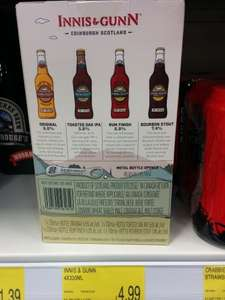 Innis & Gunn x4 330ml Beers & Bottle Opener Gift Pack £4.99 @ B&M